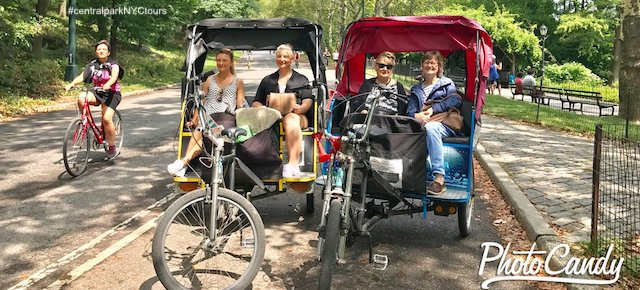 Pedicab Tours at Central Park