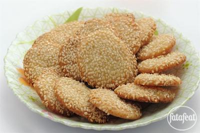 Barazek (Syrian Sesame Cookies)