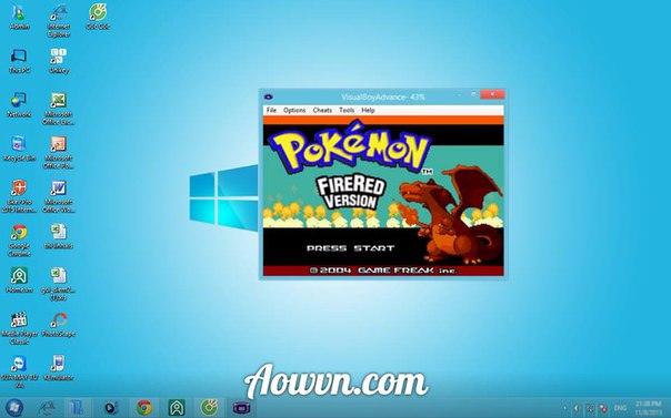 z3X8wVW - [ GBA ] Chơi Pokemon trên Android & PC , I phone , Java , s60 qua giả lập - Cực Hay