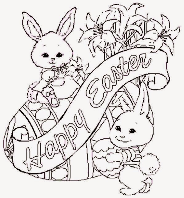Free Printable Easter Coloring Pages Free Coloring Pictures