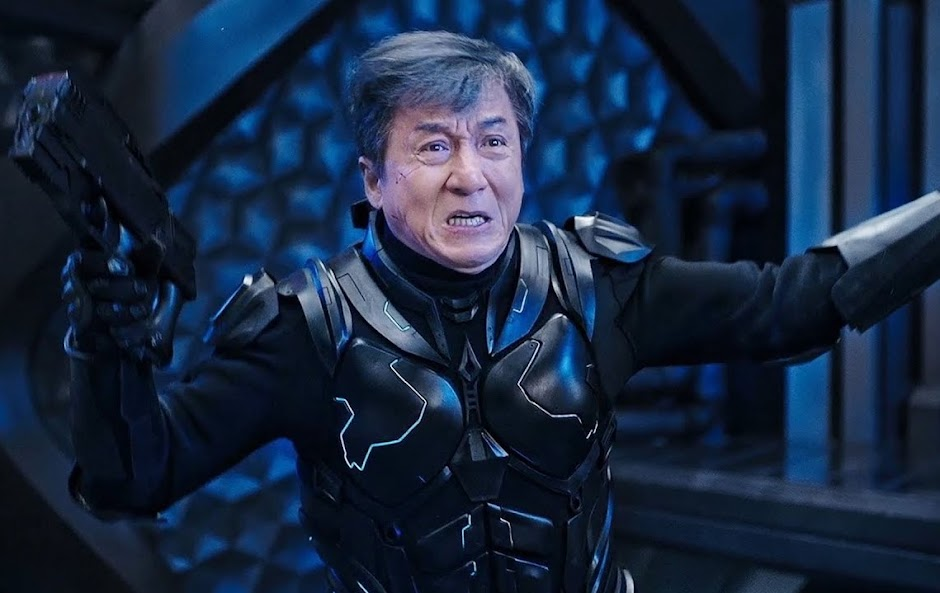 "Jackie Chan caça um ciborgue no trailer do sci-fi ""Bleeding Steel"""