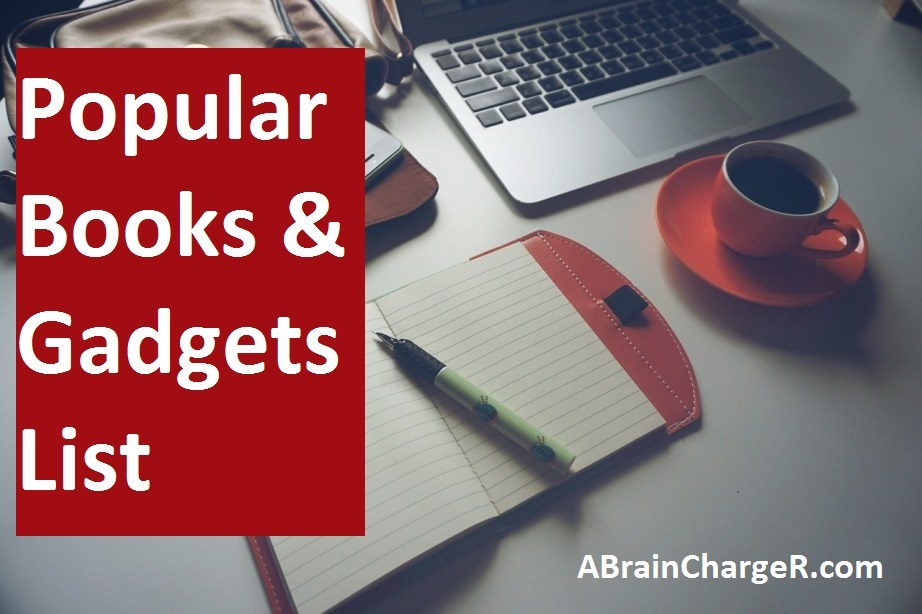 A Brain Charger A Brain Charger क Popular Books व Gadgets