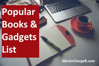 Popular Books and Gadgets List-2016 : A Brain Charger