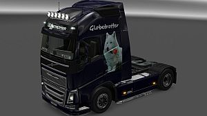 Wolf Style skin for Volvo 2012