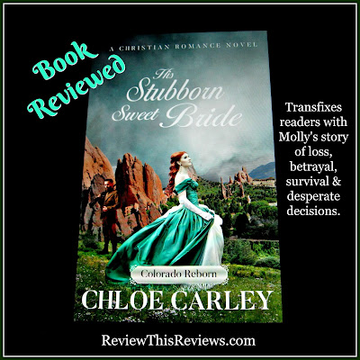 An excellent Christian historical romance that transfixes readers with Molly's story of loss, betrayal, survival & desperate decisions. Highly Recommended!