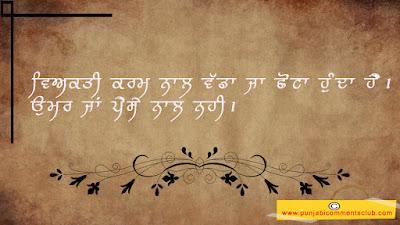 Truth Punjabi status
