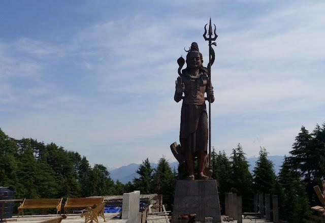 The Shiva Statue Khajjiar
