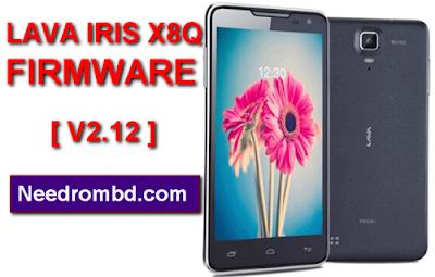 Lava Iris X8QFirmware rom