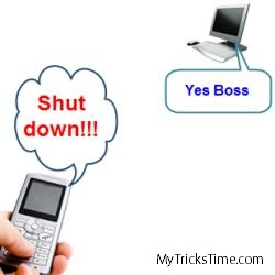 How To Shutdown A Computer With A Cell Phone or Email