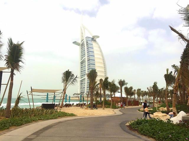Burj Al Arab Review - Vegan Dubai Travel - Madinat Jumeirah Access
