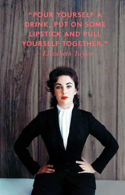 Red Lipstick Elizabeth Taylor