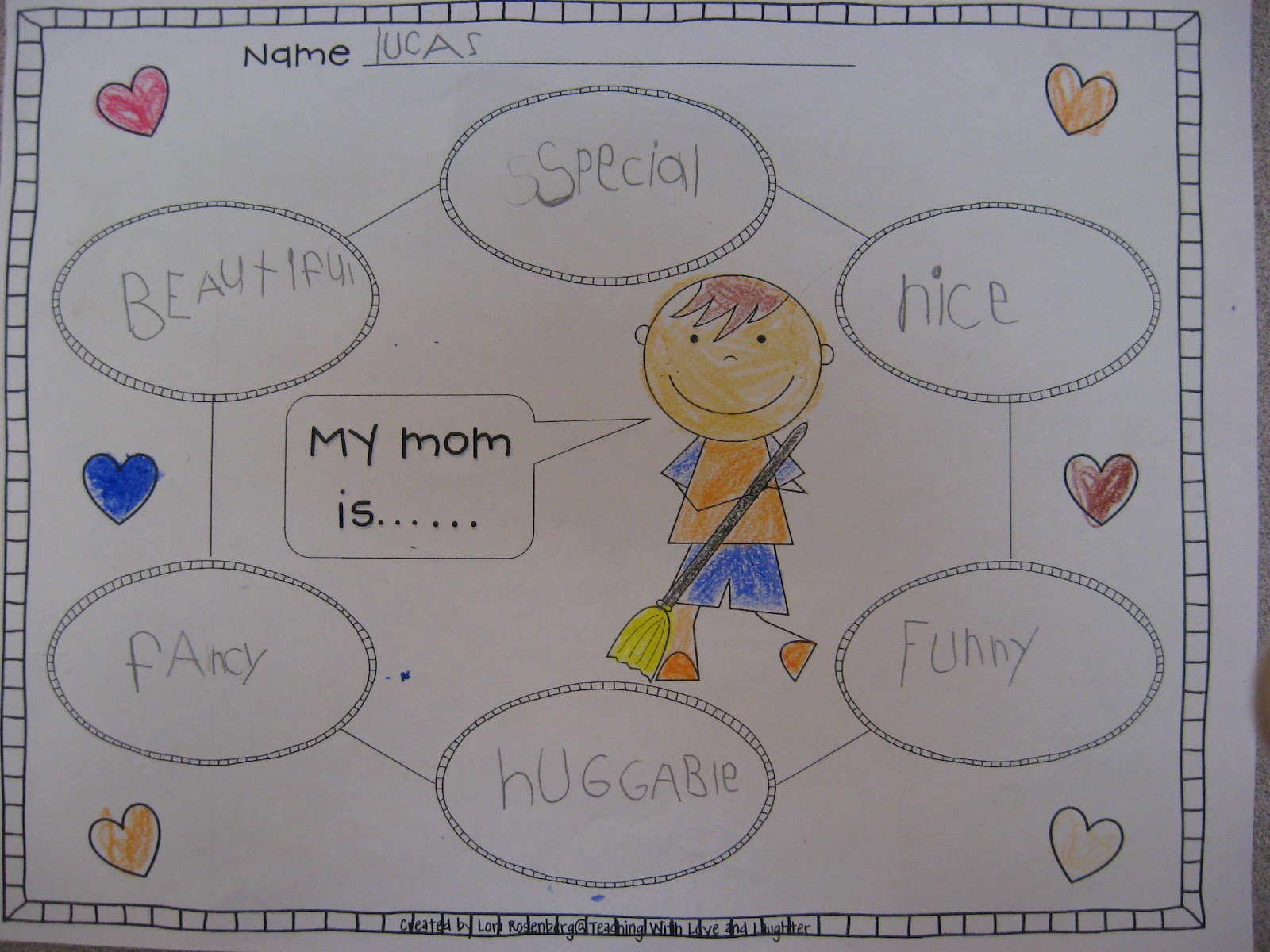 Teaching With Love And Laughter Mother S Day Writing And