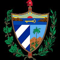 Logo Gambar Lambang Simbol Negara Kuba PNG JPG ukuran 200 px