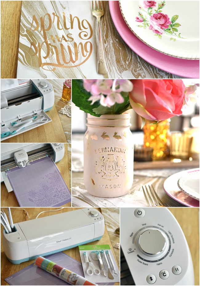 What is a Cricut Explore machine? What can I do with it? Plus, pretty diy decals for spring!