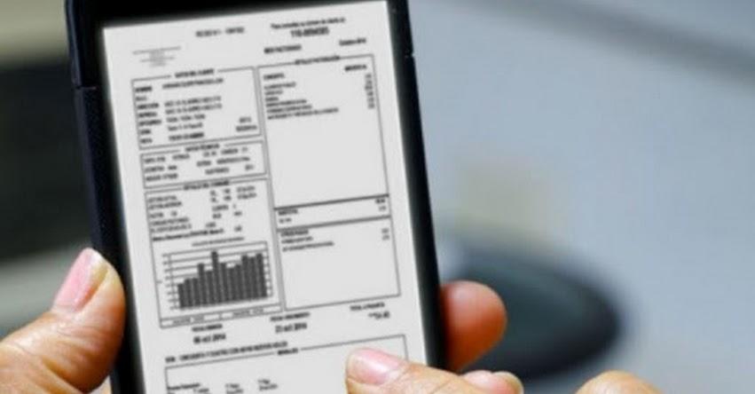 OSINERGMIN: Recibos de luz dejarán el papel y se emitirán de forma digital - www.osinergmin.gob.pe