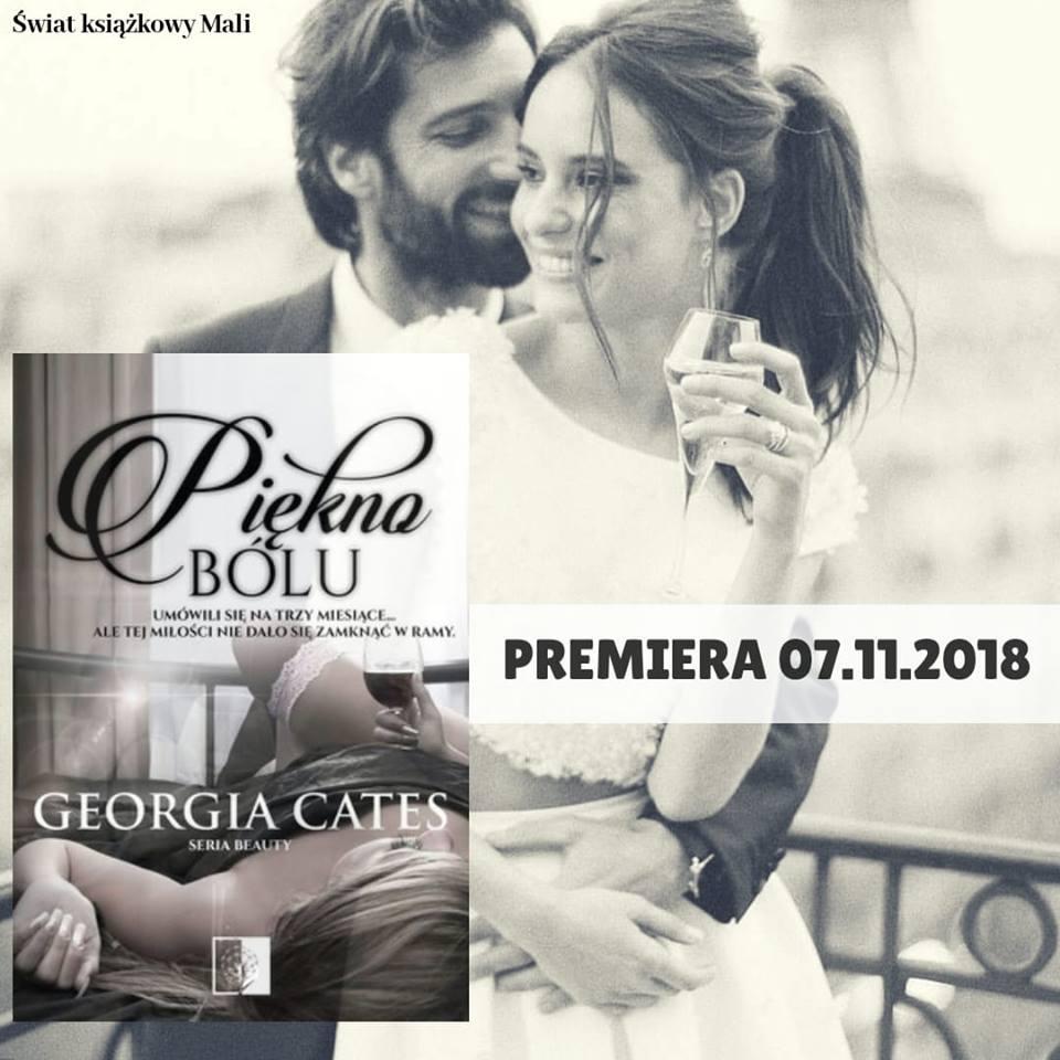 Georgia Cates -  Piękno bólu - Wydawnictwo NieZwykłe - Zapowiedź