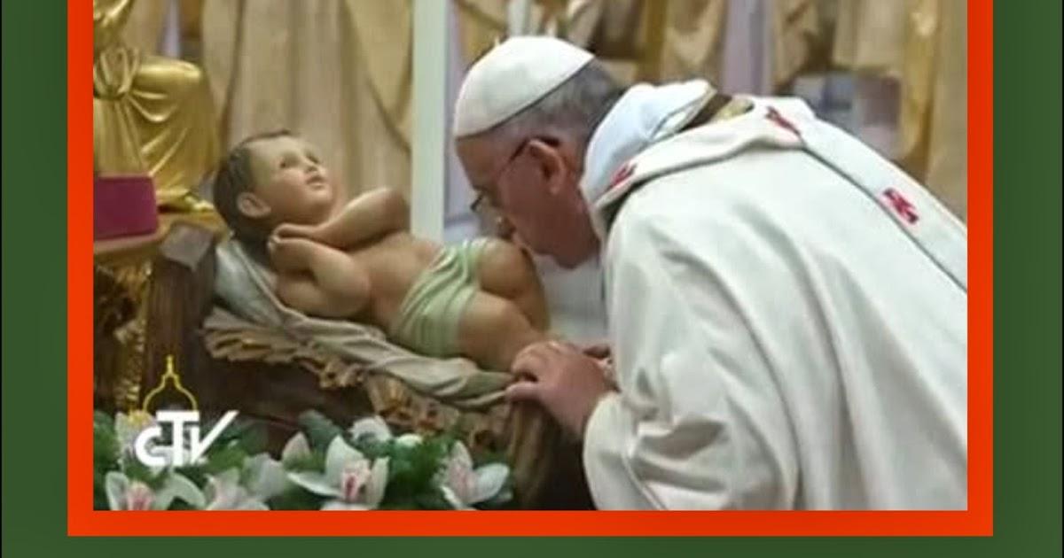 Frases Del Papa Francisco De La Navidad.Tarjetas Y Oraciones Catolicas Navidad Papa Francisco