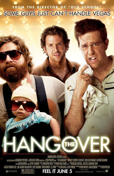 Poster Of The Hangover 2009 UnRated 720p Hindi BRRip Dual Audio Full Movie
