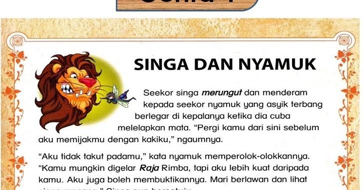 Contoh Dongeng Cerita Anak - Hallow Keep Arts