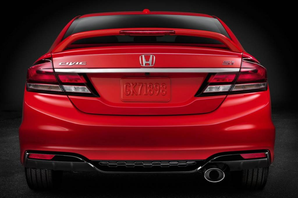 Novo Honda Civic SI 2013