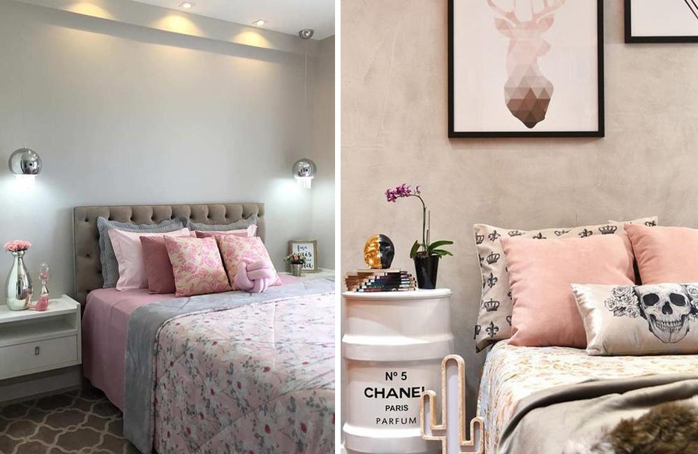Tons de rosa na decoração! 8 ideias para deixar seu quarto incrível