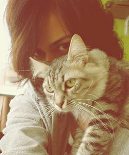 kedi,kız,girl