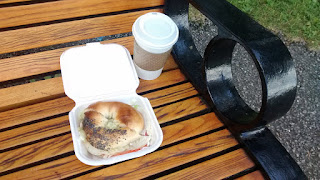 Turkey Bagel Sandwich from Continental Bagel