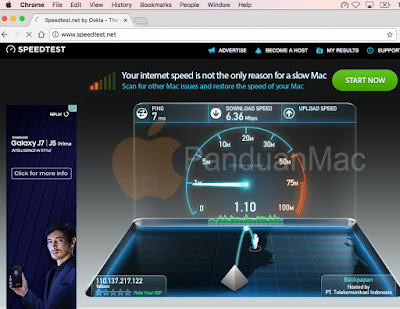 3 Cara Cek Speed Internet di Mac