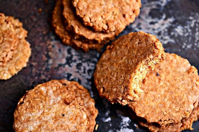 Wegańskie ciasteczka kokosowe