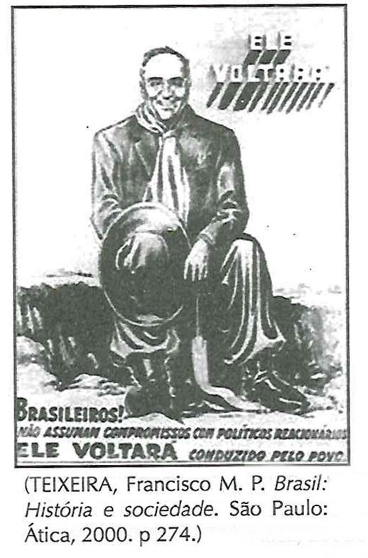 À campanha eleitoral de 1950, quando Getúlio Vargas se apresentou como um candidato democrático apoiado pela massa de trabalhadores