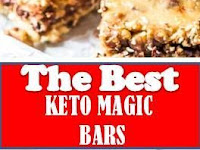 The Best Keto Magic Bars