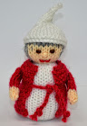 Christmas Carol Doll Knitting Pattern