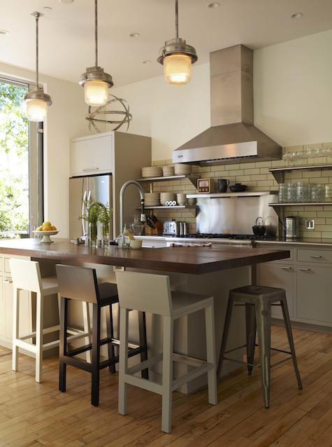 Chic Coles Kitchen Island Dining