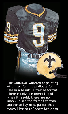 New Orleans Saints 1979 uniform
