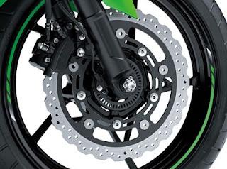 suspension tyre Kawasaki Ninja 250 cc 2018