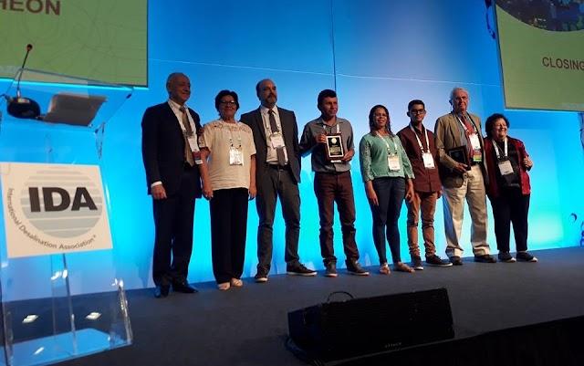 Assentamento Mata em Amparo recebeu o prêmio da Associação Internacional de Dessalinização (IDA)