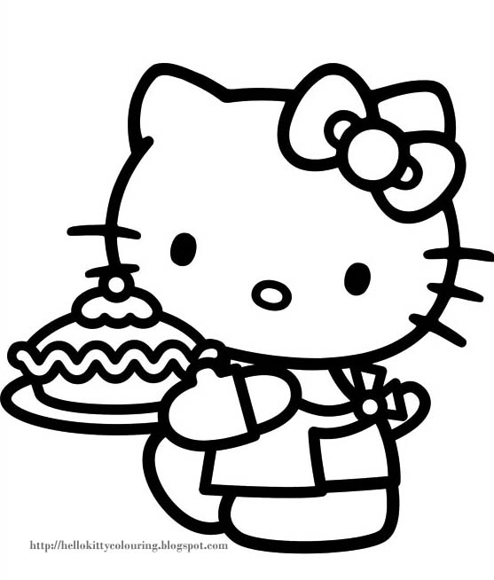 hello kitty coloring pages com - photo#48