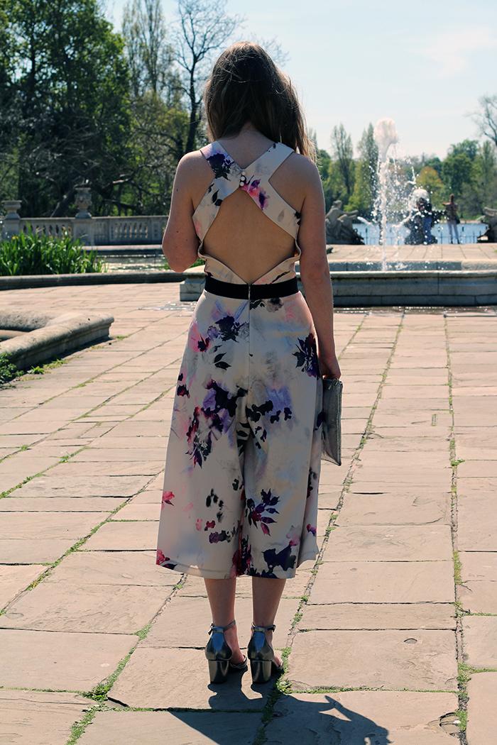 little mistress floral jumpsuit fashion bloggers