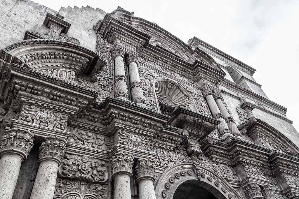 Detalle del Arzobispado de Arequipa