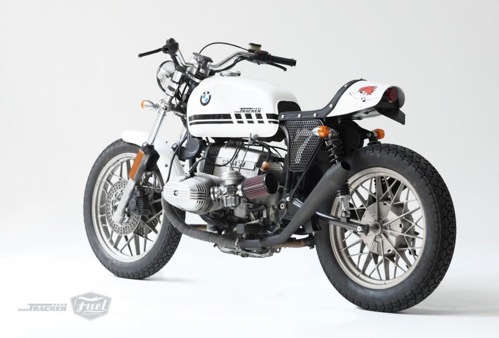 racing caf bmw r100 tracker by fuel bespoke motorcycles. Black Bedroom Furniture Sets. Home Design Ideas