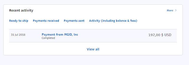 Akhirnya Bisa Gajian 200 USD dari MGID