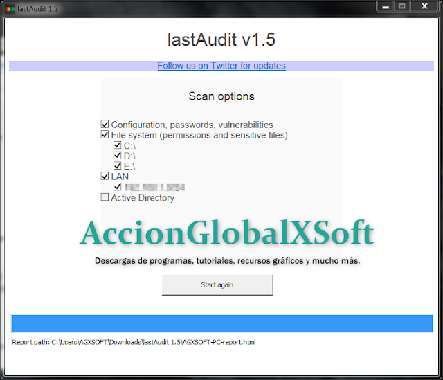 lastAudit 1.52 | Escanea tu ordenador en busca de vulnerabilidades en Windows y programas instalados