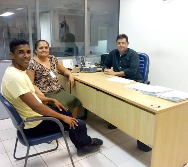 Candidata prefeita do PRB e vereadora de 3 Mandatos Maria Zilda e seu vice Flaudivan faz visita a Samaria Camarões
