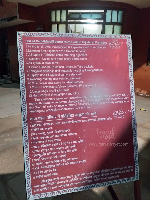 TRAVEONYET - 7 Fakta Susah Gampang Kunjungi Taj Mahal