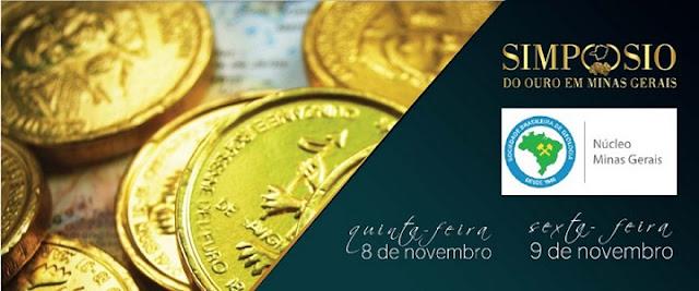 Pesquisadores da CPRM vão participar do Simpósio do Ouro  em Minas Gerais