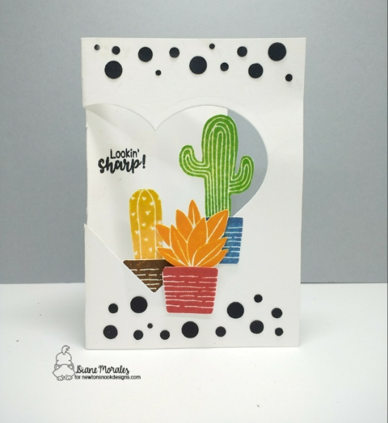Look sharp by Diane features Cultivated Cacti by Newton's Nook Designs; #newtonsnook