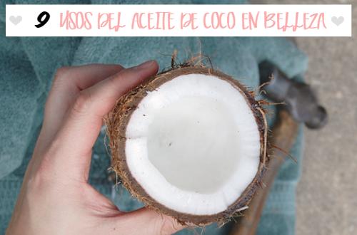 Usos del aceite de coco en belleza