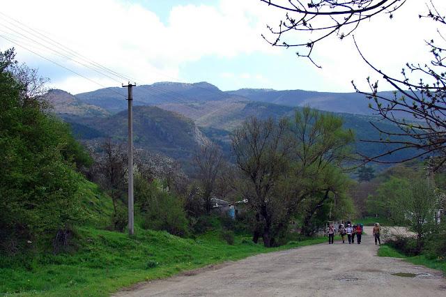Село Счастливое, район автобусной остановки