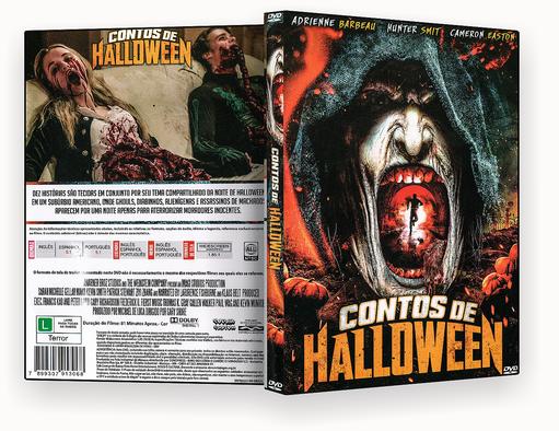CAPA DVD – Contos De Halloween – ISO