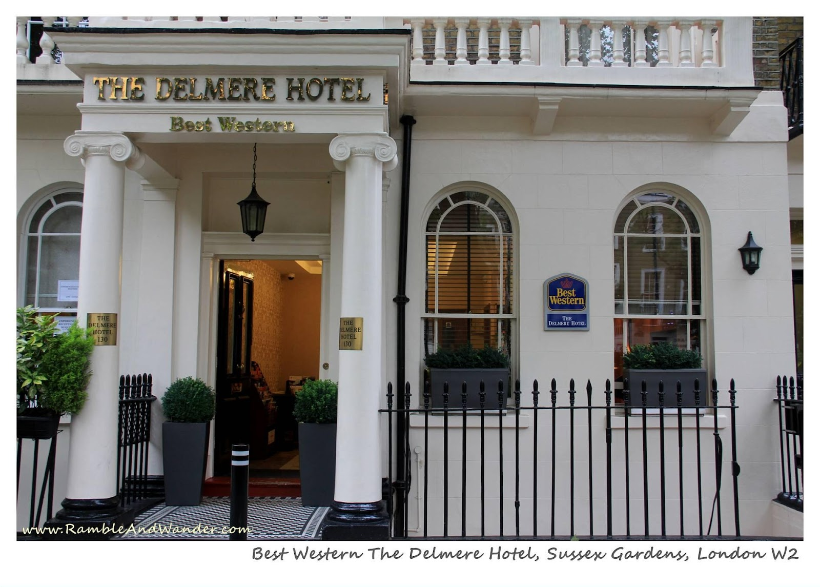 Hotel Review Best Western The Delmere London Uk Ramble And Wander